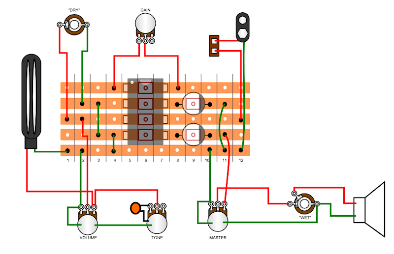 pignose amp wiring diagram schematic diagram