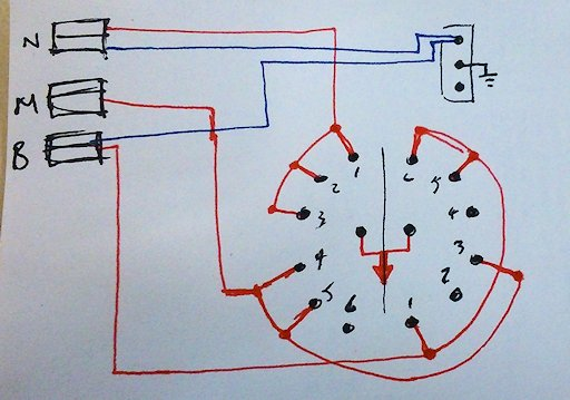2 Position Rotary Switch Wiring Diagram
